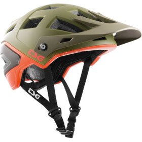 TSG Scope Graphic Design Casco Hombre, army moss-orange